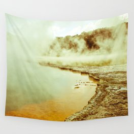 Steamy Geothermals Wall Tapestry