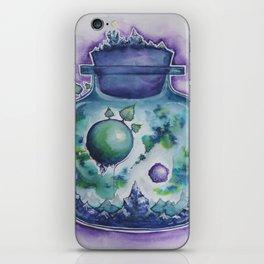 Galaxy in a Bottle iPhone Skin