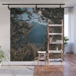 On the trail - Landscape and Nature Photography Wall Mural