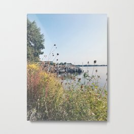 You'll Find Me at the Lake, Wisconsin Metal Print