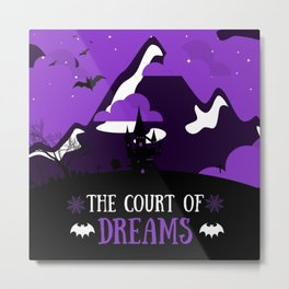 The Court of Dreams Metal Print