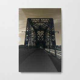 Champlain Bridge Metal Print