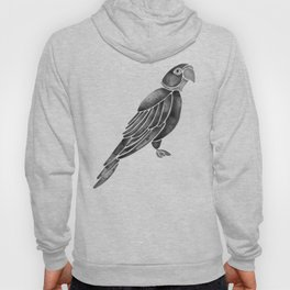 Perched Parrot – Black Palette Hoody