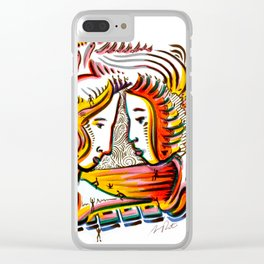 Original Art by Armando Renteria Clear iPhone Case
