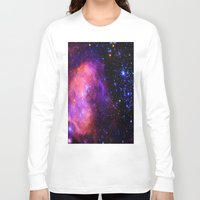 nebula Long Sleeve T-shirts featuring NebUla. by 2sweet4words Designs