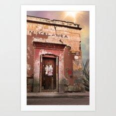 Oaxaca Style Art Print