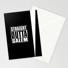 Straight Outta Salem Stationery Cards