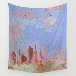 Standing Stone Circle in Pastels Wall Tapestry