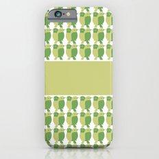 GREEN/LEMON BIRDS iPhone 6s Slim Case