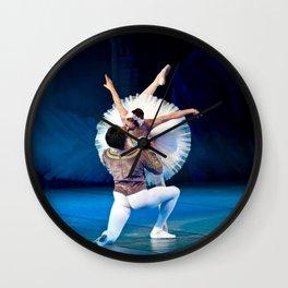 Ballet Kiss Wall Clock