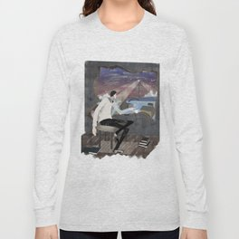 Caffee, Books and Solitude Long Sleeve T-shirt
