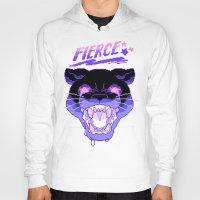 fierce Hoodies featuring FIERCE by Ginseng&Honey
