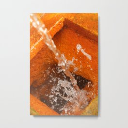 Ferrous water Metal Print