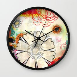Hot August Day Wall Clock