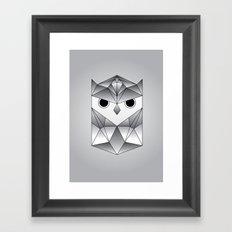 Owl. Framed Art Print