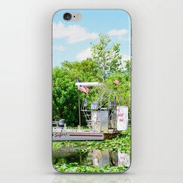 Everglades Safari Boat iPhone Skin
