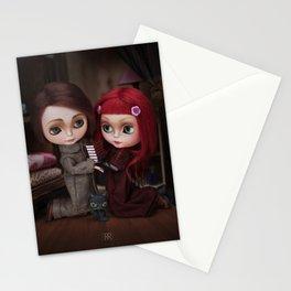 Erregiro Blythe Custom Doll Lisbeth & Edward based on Benjamin Lacombe tale Stationery Cards