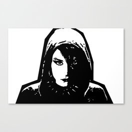 Lisbeth Salander - The Girl with the Dragon Tattoo Canvas Print