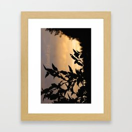 September 26 Framed Art Print