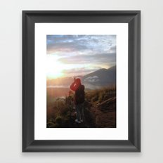 Morning Ritual  Framed Art Print
