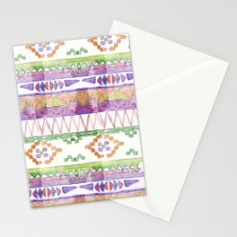Watercolour Quilt #2 Stationery Cards