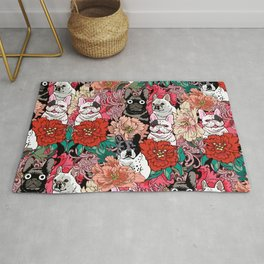 Because French Bulldogs Rug