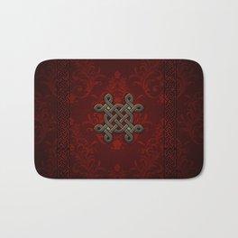 Decorative celtic knot Bath Mat