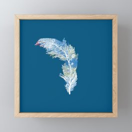 Feather Art Framed Mini Art Print