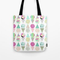 psychedelic Tote Bags featuring Psychedelic by Catalina Montaña