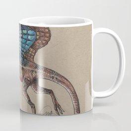 Fan Throated Dragon Coffee Mug