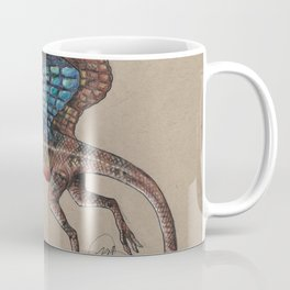 Fan Throated Dragon Coffee Mug