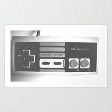 90's Nintendo Art Print