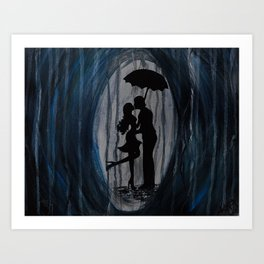 Pluviophile, Lover Of Rain Art Print