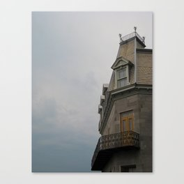 Cloudy Montreal Canvas Print