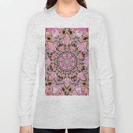 Abstract Flower AA YY QQQQQ Long Sleeve T-shirt