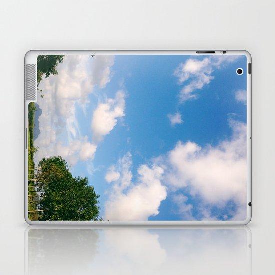 Nostalgic Sky Laptop & iPad Skin