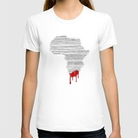south africa T-shirts featuring South Africa Bleeds by Design511