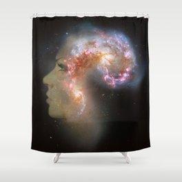 The Antennae Galaxies Shower Curtain