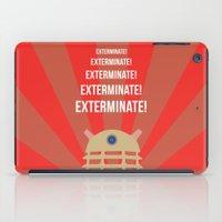 dalek iPad Cases featuring Dalek Propoganda by ElectricShotgun