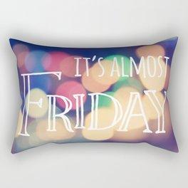 Almost Friday Rectangular Pillow