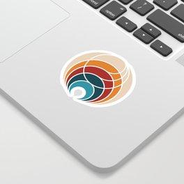 ITB stacked logo Sticker
