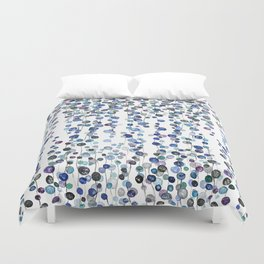 colorful string of beads 2 Duvet Cover