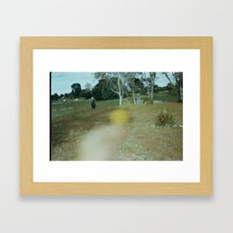 Disappearing Framed Art Print