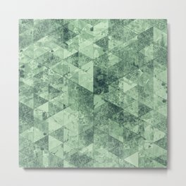 Abstract Geometric Background #12 Metal Print