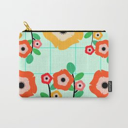 Floral wall Carry-All Pouch