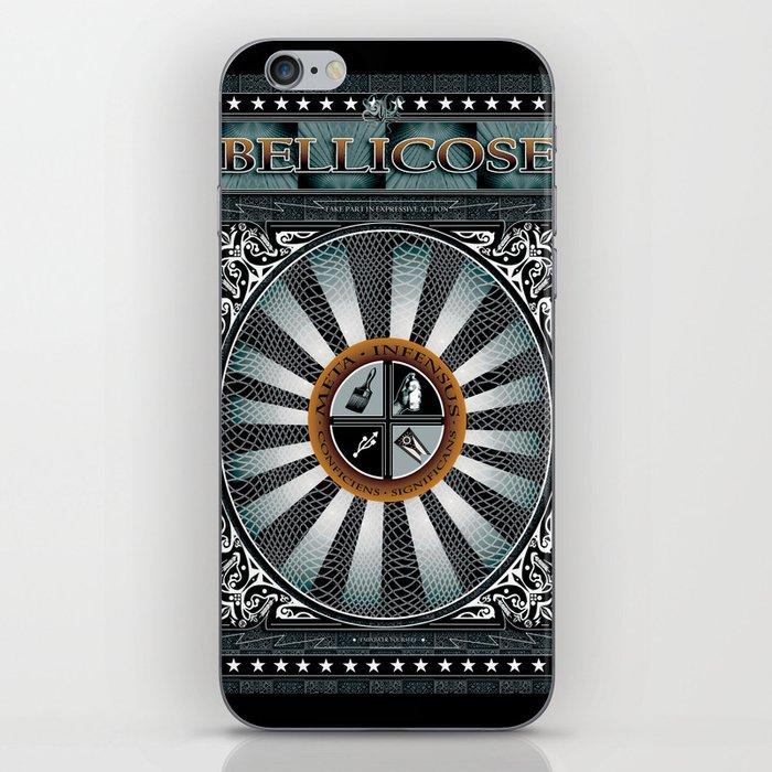 BELLICOSE iPhone Skin