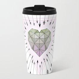 Young & Unafraid - Pink Travel Mug
