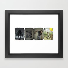 Dressing Up Framed Art Print