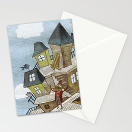The house of secrets Stationery Cards