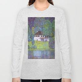 "Gustav Klimt ""Schloss Kammer on the Attersee III"" Long Sleeve T-shirt"